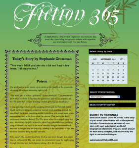 """Poison"" on Fiction365"
