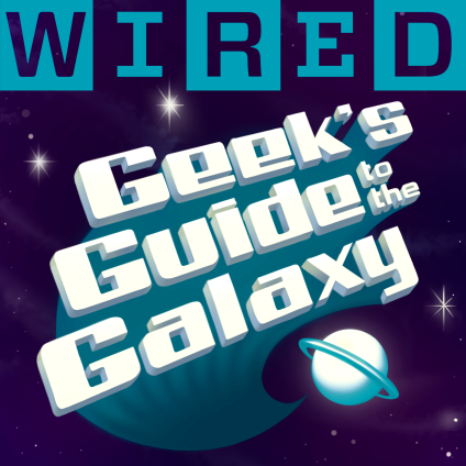 WIRED's Geek's Guide to the Galaxy Podcast logo